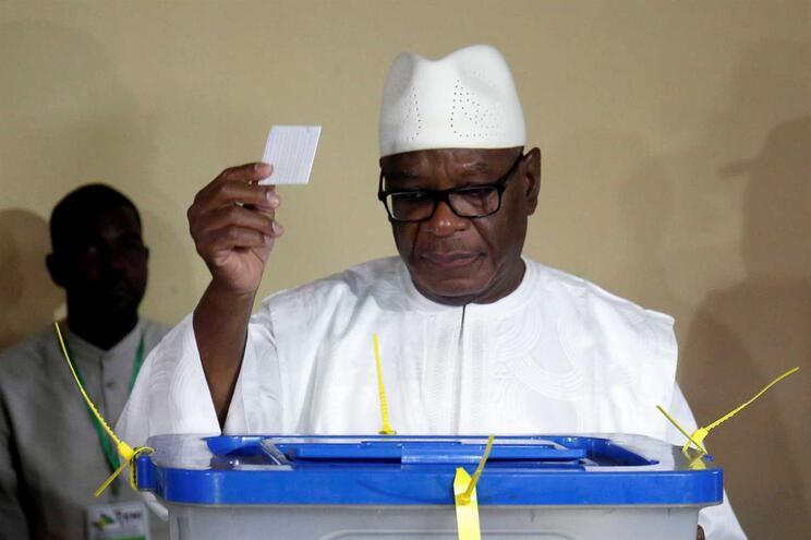 Ibrahim Boubacar Keita, presidente do Mali