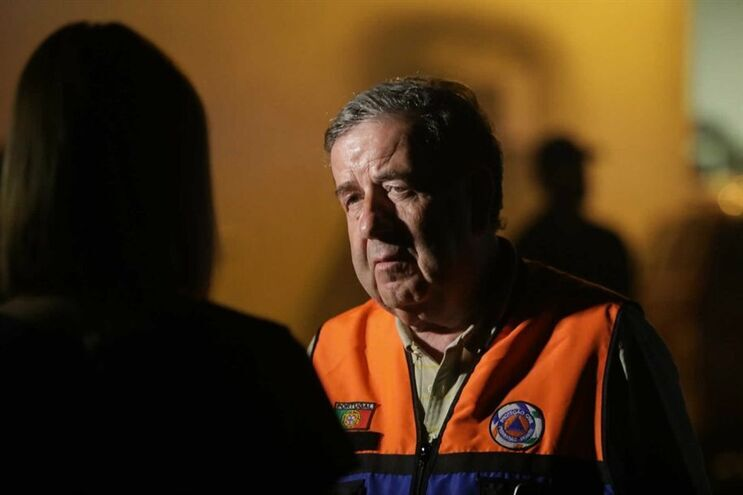 O presidente da Câmara de Pedrógão Grande, Valdemar Alves