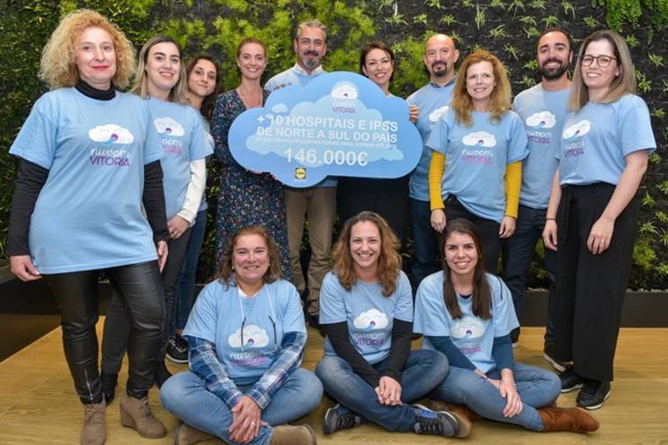 Lidl angaria 146 mil euros para a Nuvem Vitória