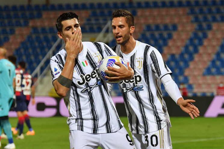 A Juventus empatou este sábado