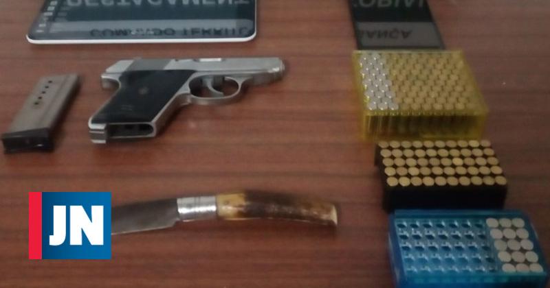Detido por violência doméstica em Alfândega da Fé tinha arma ilegal