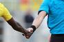 Este gesto foi suspenso pela Federação Portuguesa de Futebol