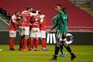 O Braga venceu o Farense este domingo