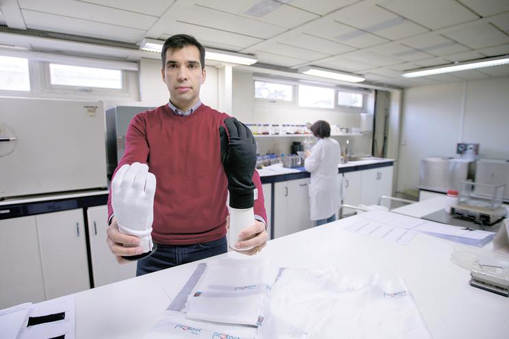 Luís Cristino, administrador da Hindu - Technical Textiles