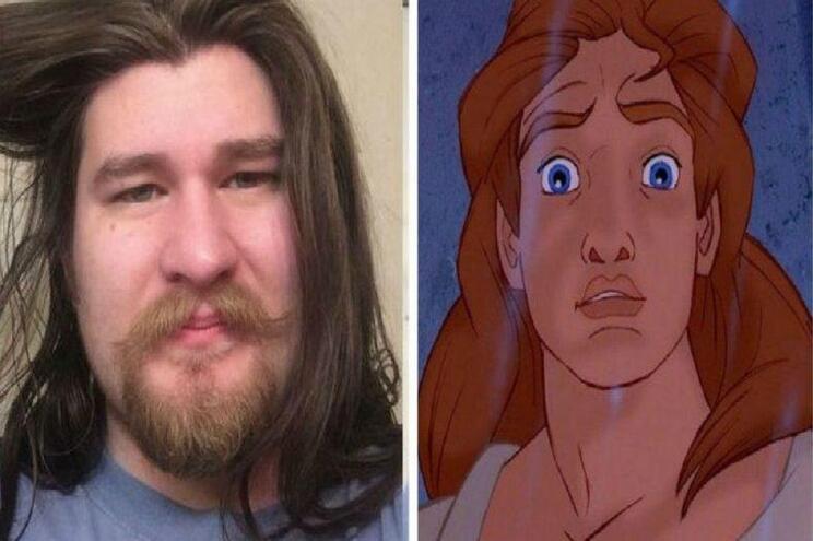 Homem perde 31 quilos e é confundido com príncipe da Disney