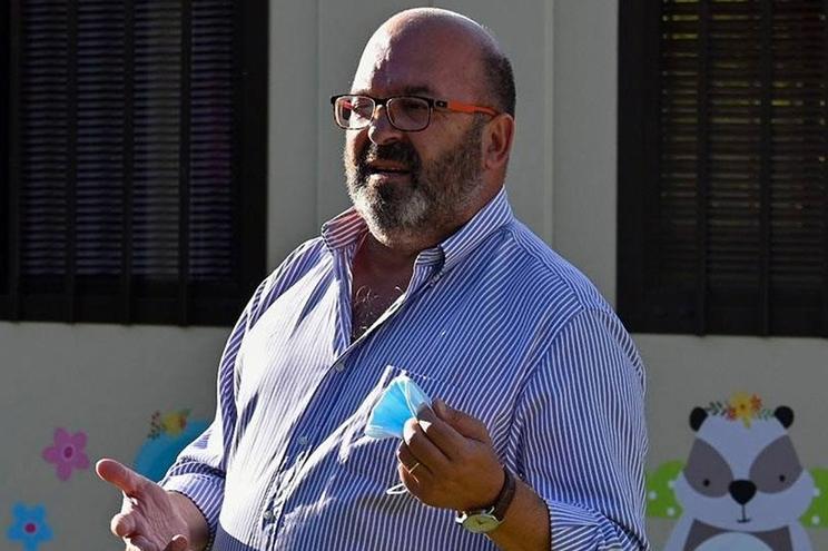 O Presidente da Câmara de Sardoal, Miguel Borges