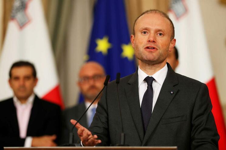 O primeiro-ministro de Malta, Joseph Muscat