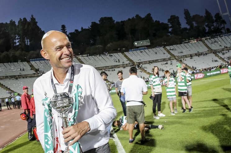 O Sporting de Marcel Keizer (na foto) foi a última equipa a conquistar a Taça de Portugal