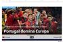 """""""Portugal domina a Europa"""", segundo o desportivo """"Marca"""""""