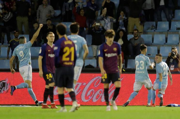 Equipa secundária do Barcelona perde em Vigo, que fica mais perto da salvação