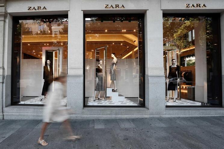 Zara é uma das marcas do grupo Inditex