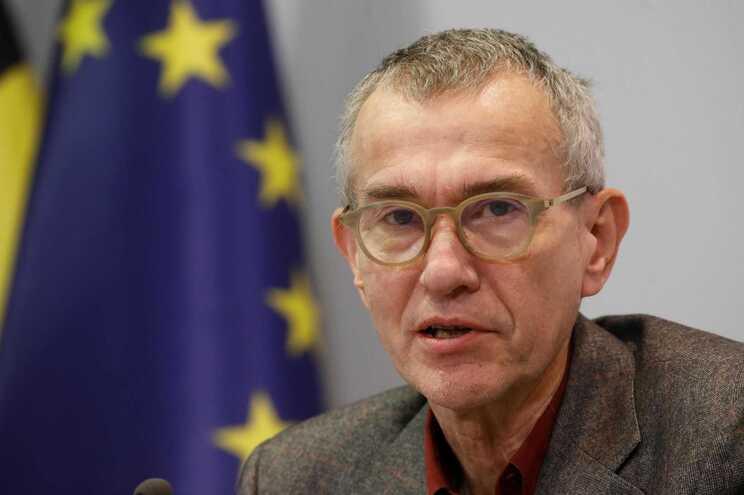 O ministro belga da Saúde, Frank Vandenbroucke