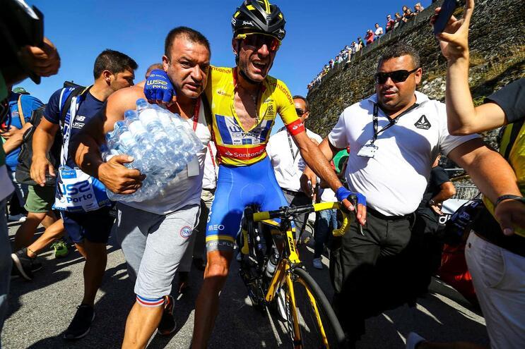Raúl Alarcón suspenso pela União Ciclista Internacional