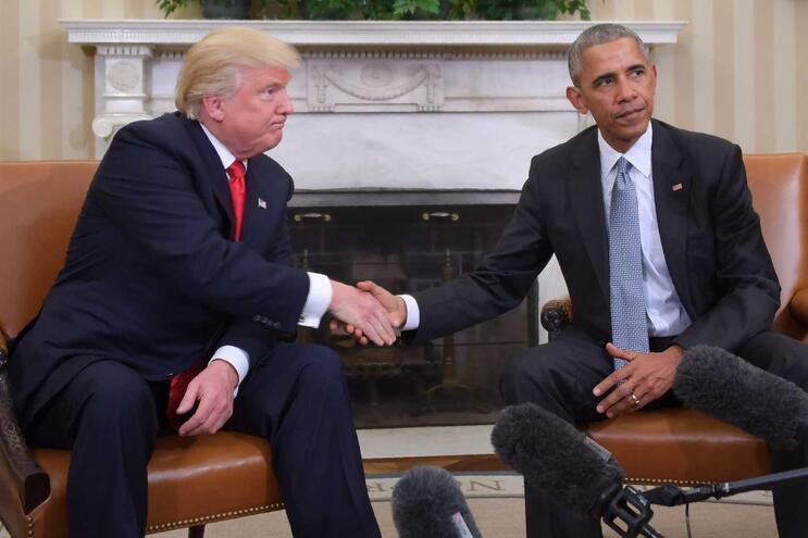 Obama sempre tentou evitar comentar a presidência de Trump