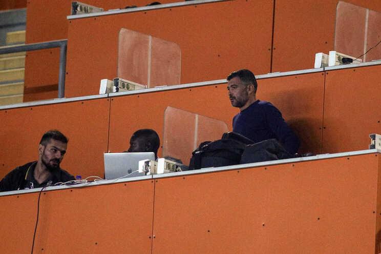 Sérgio Conceição foi expulso na final da Taça