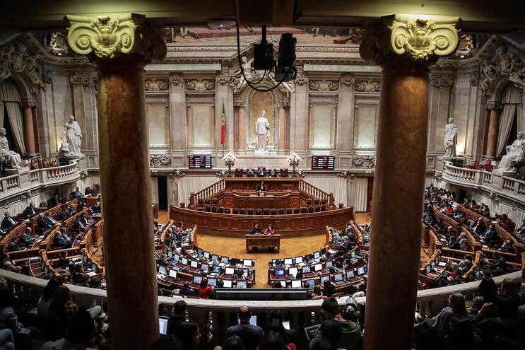 Fez-se história no Parlamento português