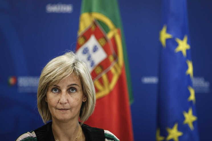 Marta Temido, ministra da Saúde