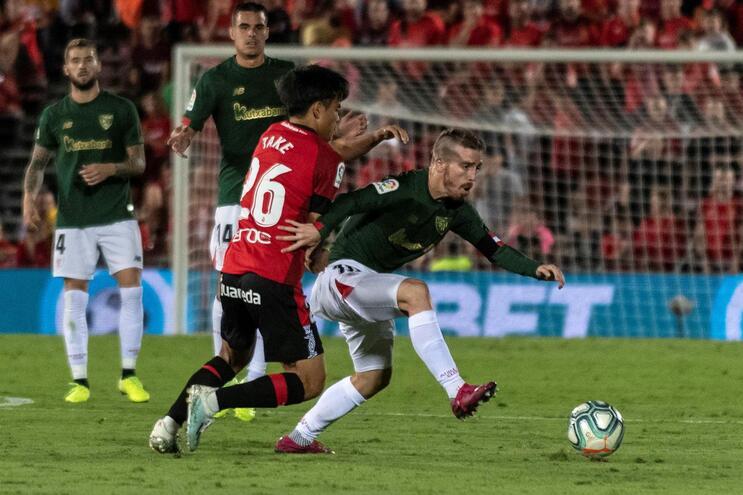 Athletic Bilbao empata na deslocação a Maiorca e falha liderança