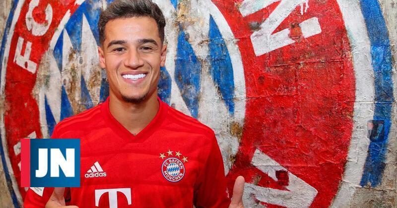 Coutinho emprestado ao Bayern Munique por 8,5 milhões
