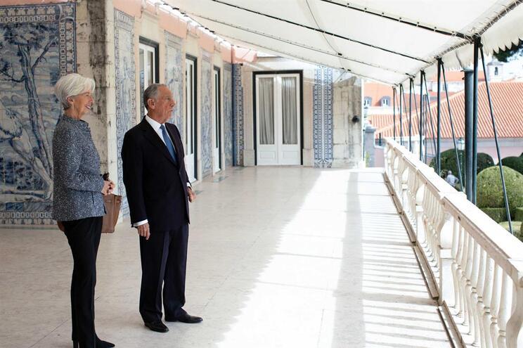 Lagarde elogia progressos de Portugal e deixa aviso para o futuro