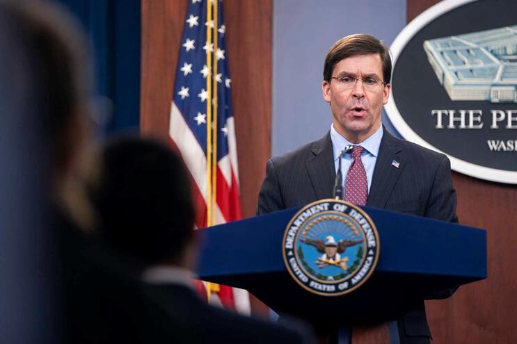 Secretário da Defesa dos Estados Unidos da América, Mark Esper