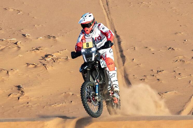 Paulo Gonçalves faleceu a 12 de janeiro no Rali Dakar vítima de acidente de moto