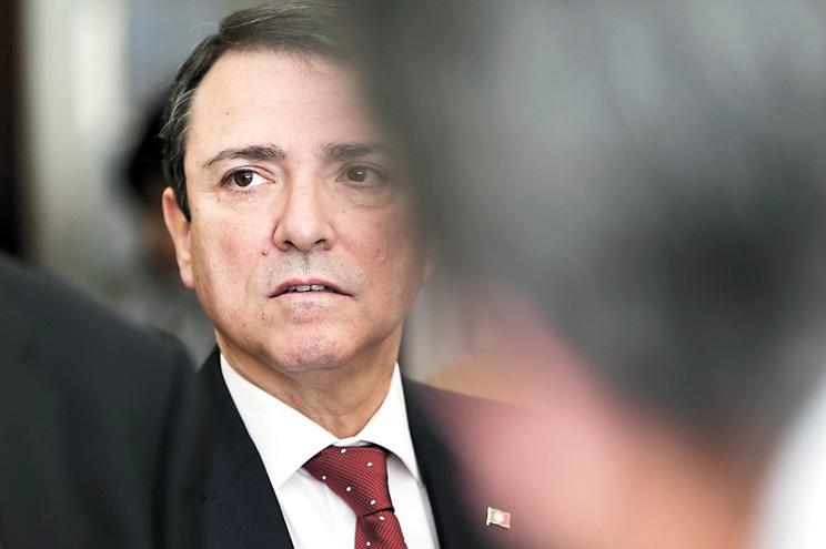 O ex-deputado do PSD e ex-secretário de Estado da Segurança Social Agostinho Branquinho