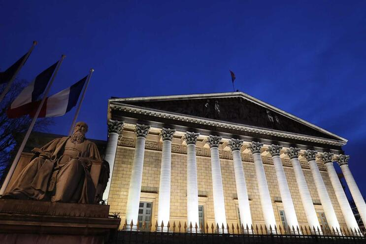 O Palácio Bourbon acolhe a Assembleia Nacional francesa