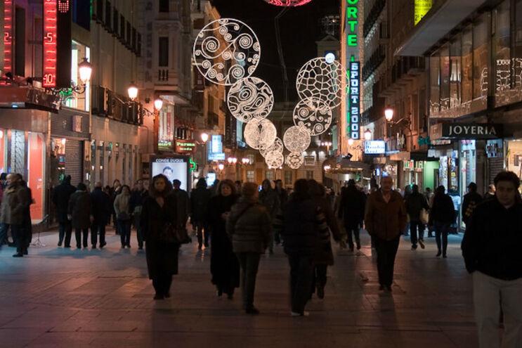 Madrid é a cidade espanhola que mais gasta em luzes de Natal, com um orçamento de três milhões de euros
