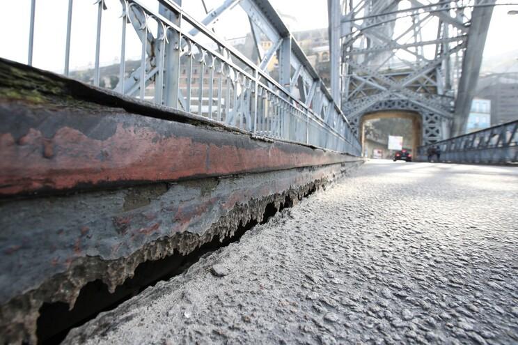 Obras de reparação da ponte custarão 3,8 milhões de euros