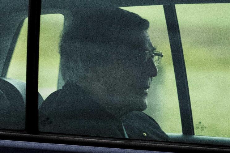 George Pell foi já libertado da prisão