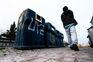 Em novembro do ano passado, dois sem-abrigo encontraram uma bebé num ecoponto em Santa Apolónia, Lisboa