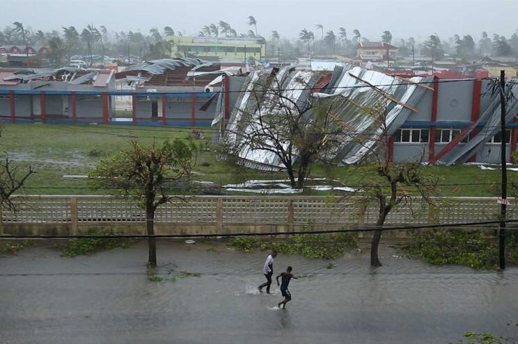 Ciclone e inundações em Moçambique