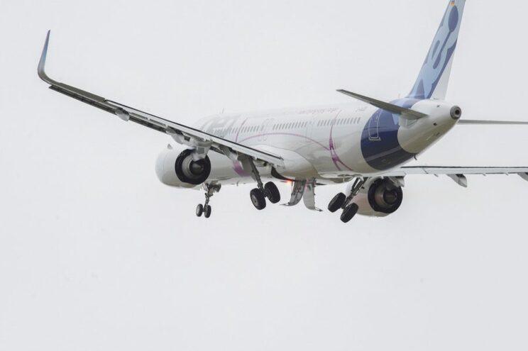 """Airbus A321 Neo com condição """"potencialmente insegura"""""""
