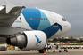 Avião da SATA, companhia aérea dos Açores