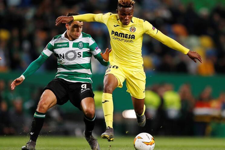 Sporting perde com o Villarreal