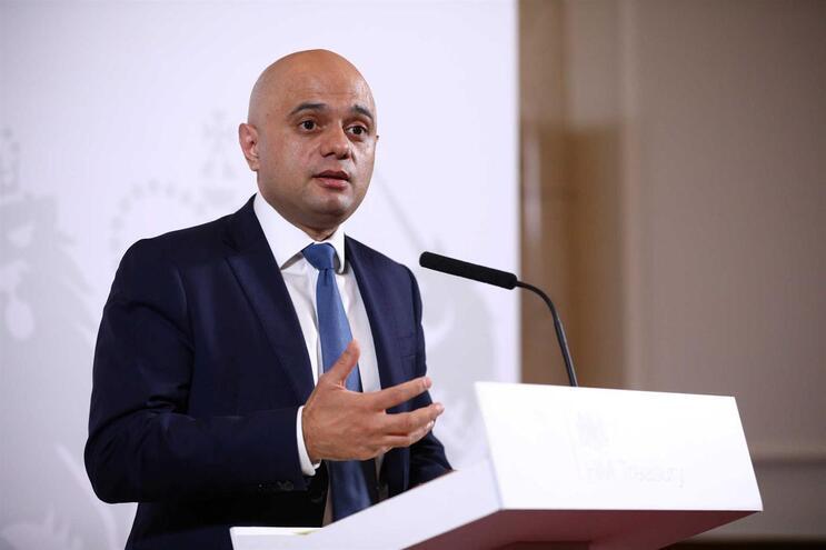 Sajid Javid, ministro da Economia do Reino Unido