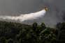 Sete meios aéreos participam no combate às chamas em Paredes