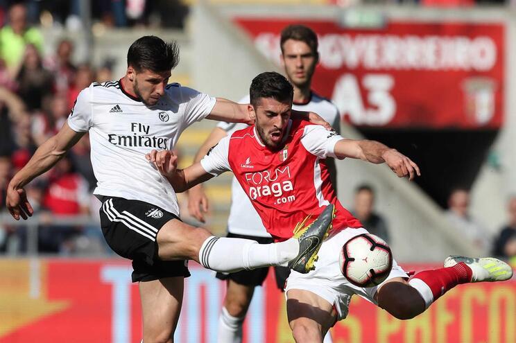 Veja o golo que vai dando vantagem ao Braga frente ao Benfica