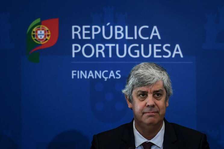 O ministro das Finanças cessante, Mário Centeno