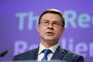 Vice-presidente executivo da Comissão Europeia Valdis Dombrovskis