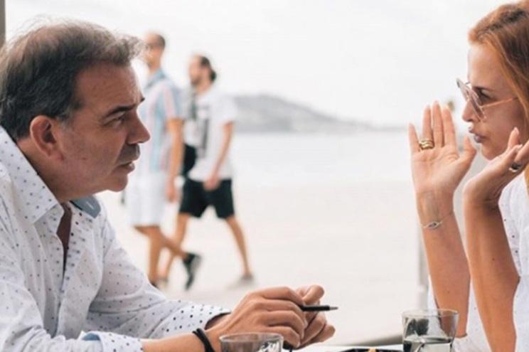Cristina partilhou encontro com Nuno Santos
