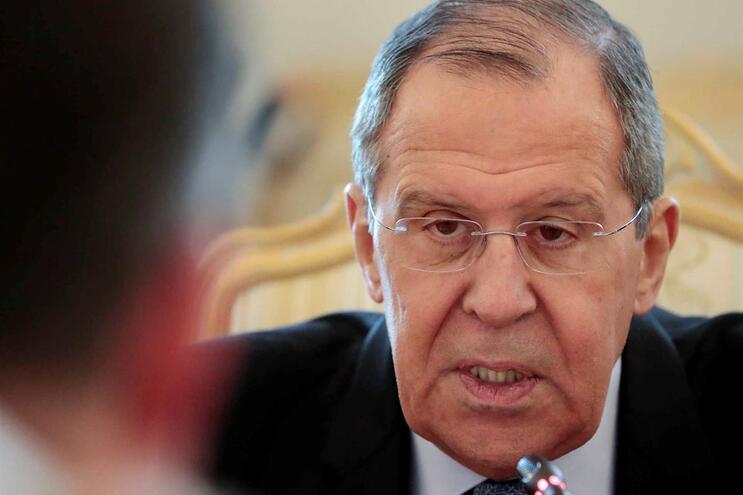 Ministro dos Negócios Estrangeiros russo, Sergei Lavrov