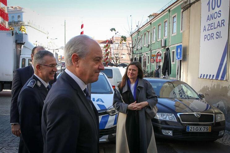 Rui Rio visitou a 4ª divisão da Polícia de Segurança Pública, em Lisboa