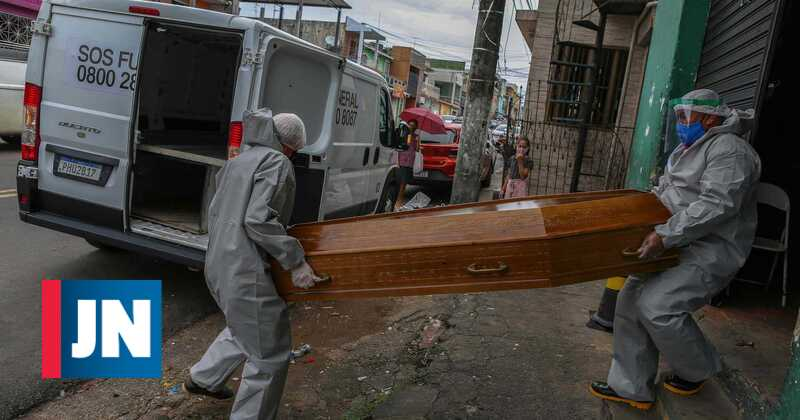 Brazil with 1,109 more dead and 38,000 infected in 24 hours