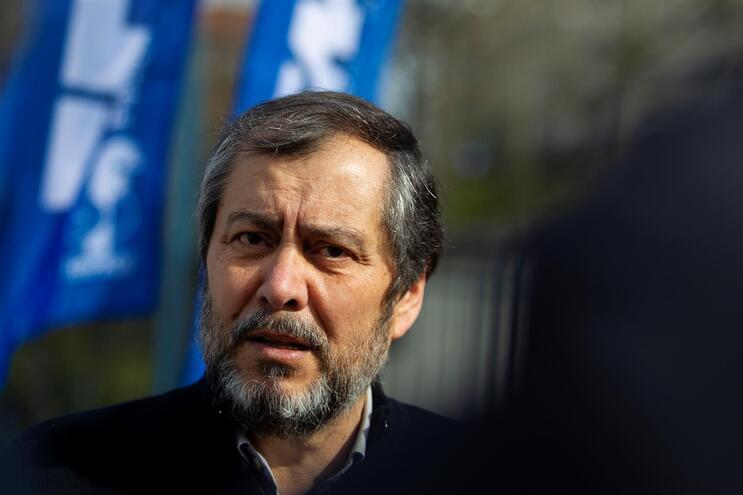 O secretário-geral da Fenprof, Mário Nogueira