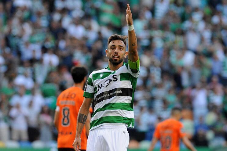 """Bruno Fernandes: """"O que é normal é virem aqui e o Sporting ser desfavorecido"""""""