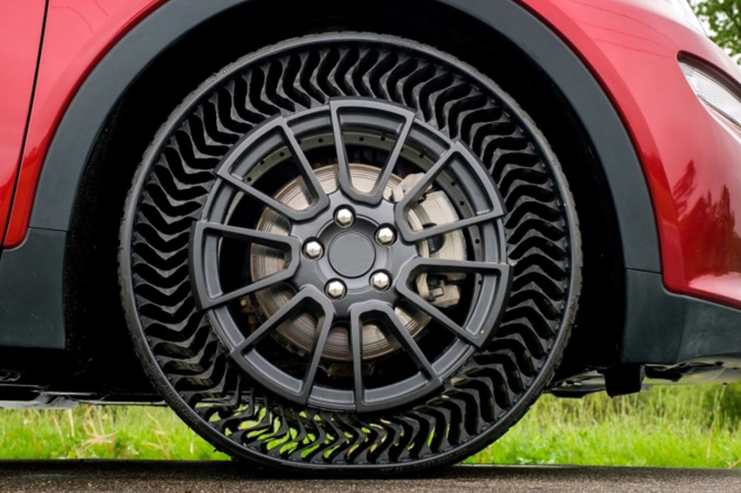 E se nunca mais tivesse de trocar um pneu?