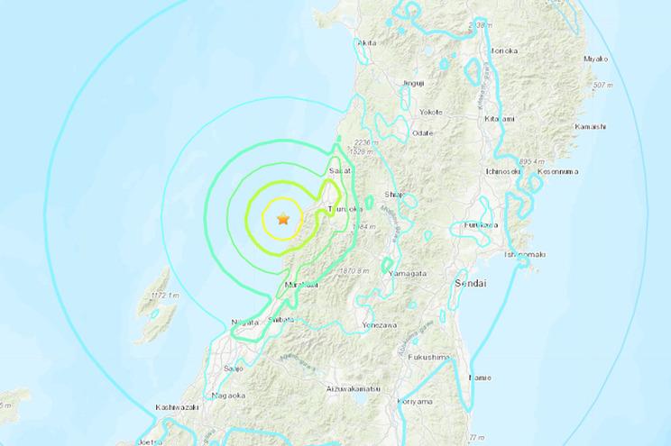 Autoridades levantam alerta de tsunami no Japão