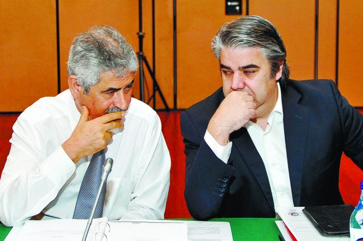 Paulo Gonçalves (à direita) foi acusado no âmbito do processo e-Toupeira